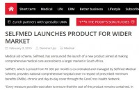 Selfmed launches product for wider market