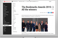 The Bookmarks Awards 2015: All the winners