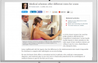 MEDICAL SCHEMES OFFER DIFFERENT RATES FOR SCANS