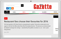 RESTAURANT FAN CHOOSE THEIR FAVOURITE FOR 2016