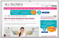 BEST 10-MINUTE WORKOUT FOR BUSY WOMEN