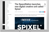 THE SPACESTATION LAUNCHES NEW DIGITAL CREATIVE UNIT CALLED SPIXEL
