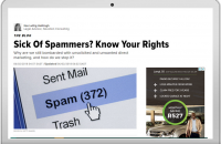 Sick Of Spammers? Know Your Rights