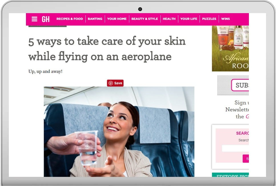 5 ways to take care of your skin while flying on an ...
