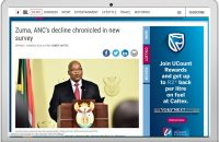 Zuma, ANC's decline chronicled in new survey