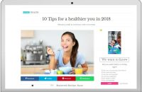 10 Tips for a healthier you in 2018