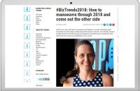 #BizTrends2018: How to manoeuvre through 2018 and come out the other side