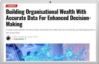 Building Organisational Wealth With Accurate Data For Enhanced Decision-Making